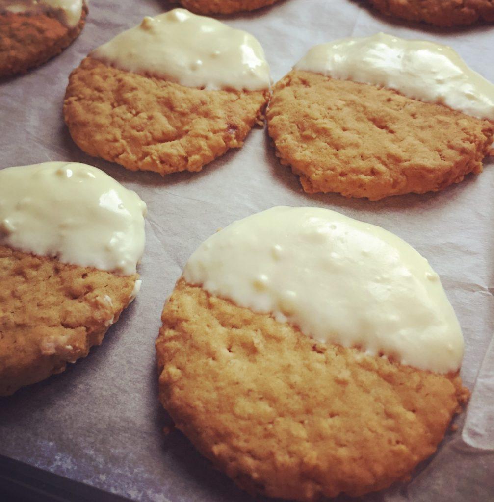 Lemon & White Chocolate Biscuits