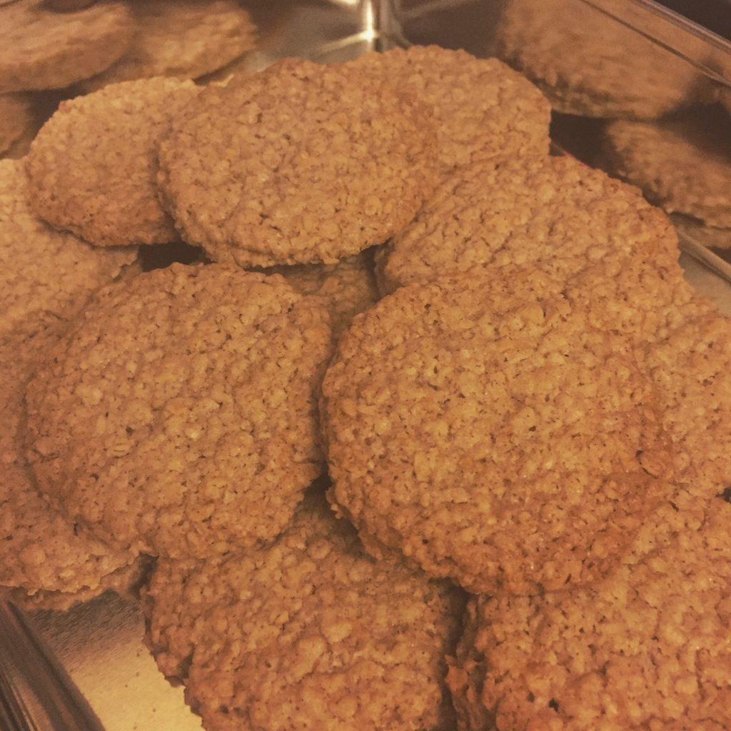 Cinnamon Oat Biscuits