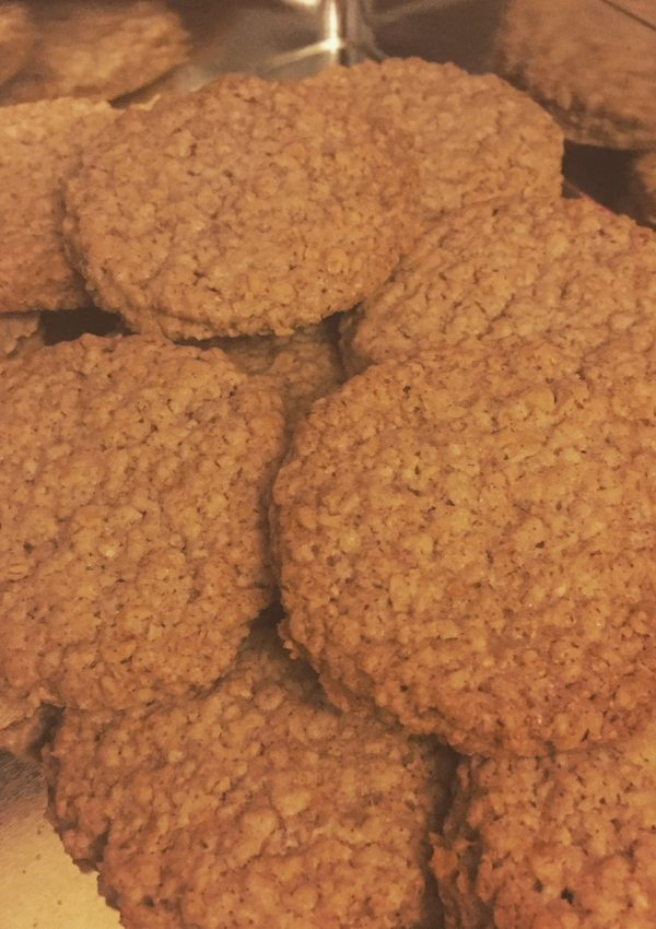Cinnamon Oat Biscuits