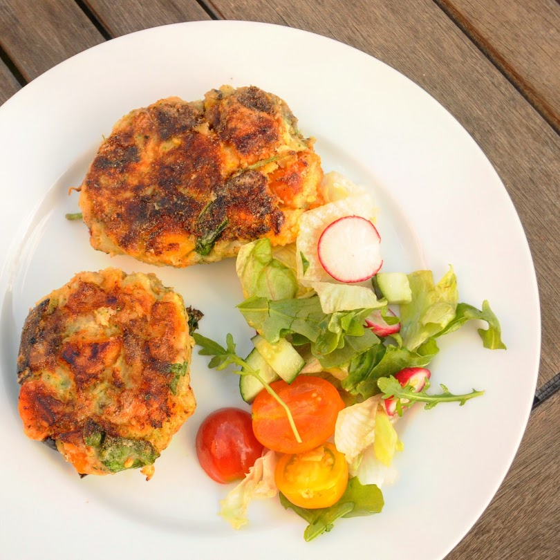Crispy Vegetable Cakes
