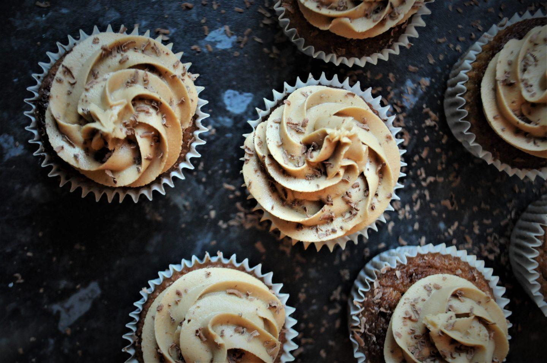 Gluten Free Coffee Cupcakes
