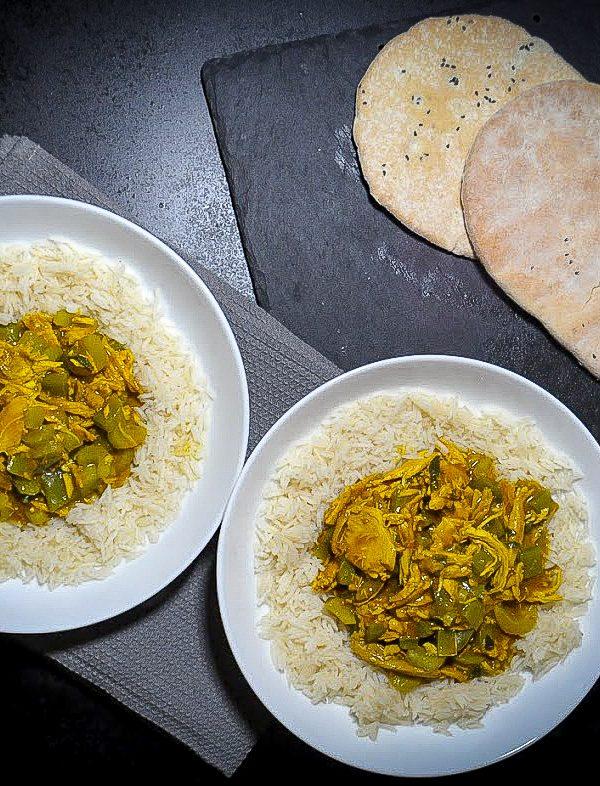 Mild Turkey Curry