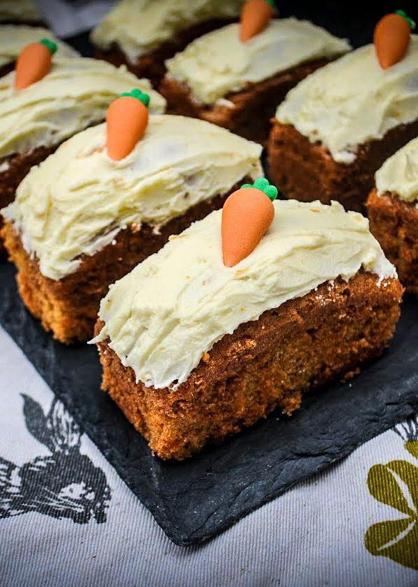 Mini Carrot Cake Loaves
