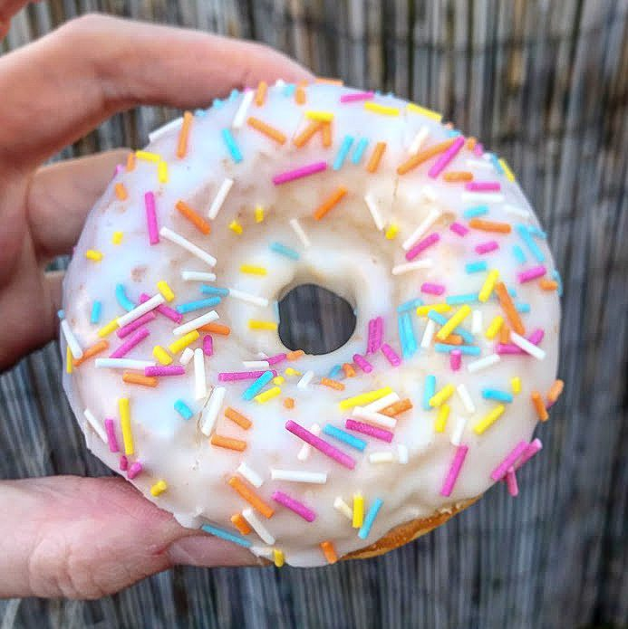 Gluten Free Iced Ring Doughnuts