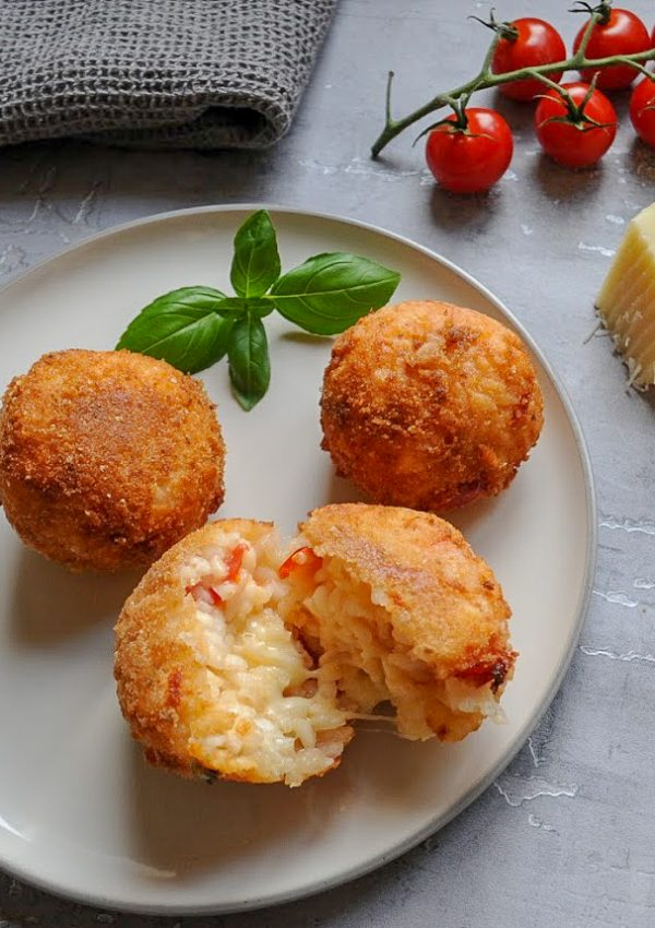 Tomato and Mozzarella Arancini