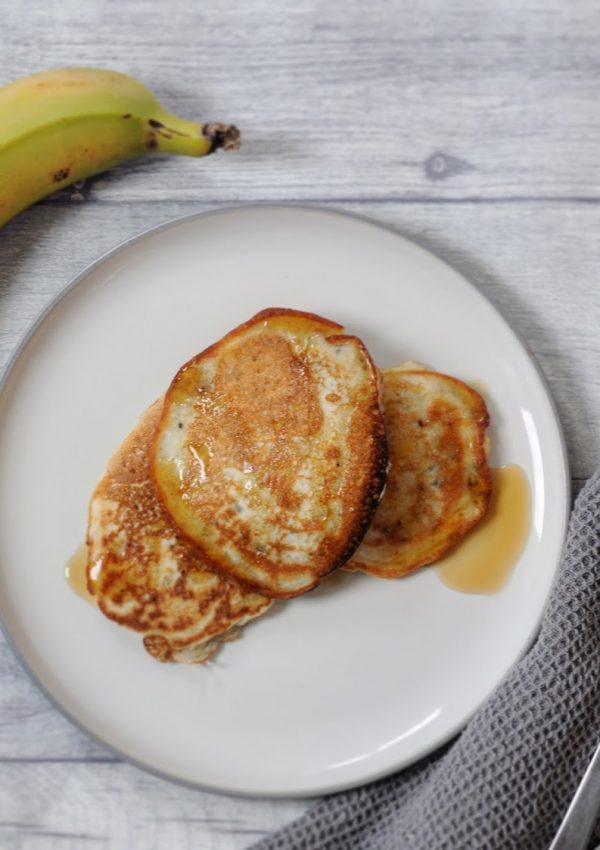 Banana and Chia Pancakes