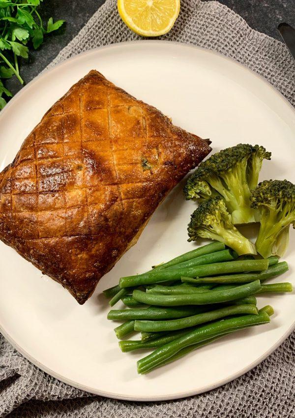 Low FODMAP Salmon En Croute