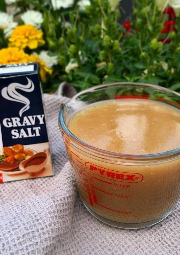 Low FODMAP Chicken Gravy