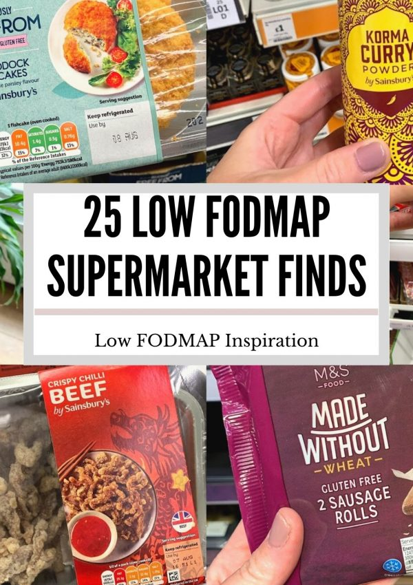25 Low FODMAP Supermarket Finds
