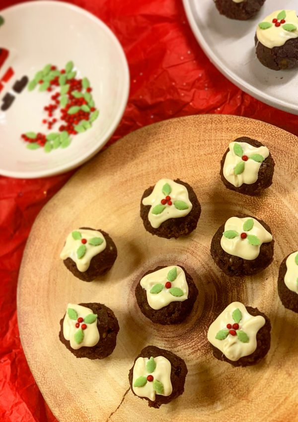 Christmas Pudding Bites