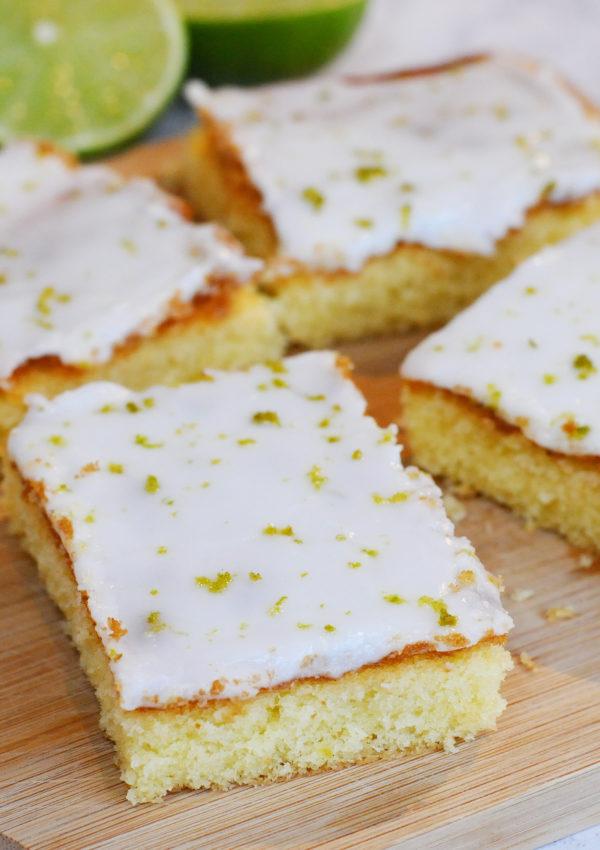 Zesty Lime Tray Bake
